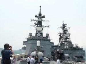 Chiến hạm hiện đại hàng đầu của Nhật Bản