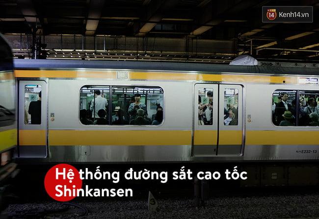 Hệ thống đường sắt cao tốc Shinkansen