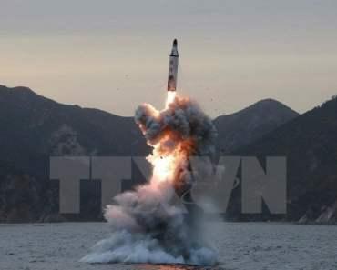 Triều tiên liên tục phóng thử tên lửa đạn đạo về phía biển Nhật Bản