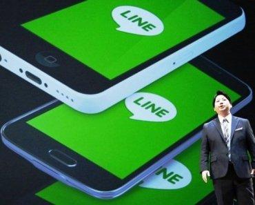 Line trở thành nhà mạng tại Nhật Bản
