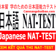 Cập nhật kết quả thi Nat-test nhanh nhất