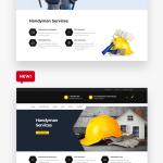 1 New Message Renovation Repair Service Home Maintenance Elementor Wp Theme Dreamscode Temas E Scripts