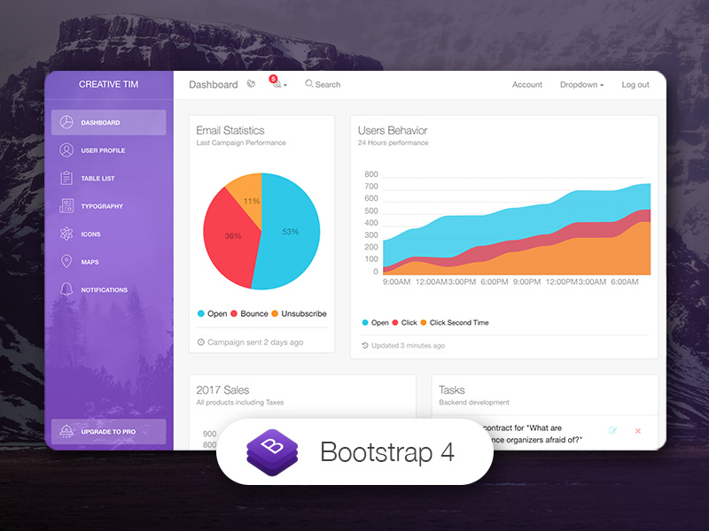 Studio Visual Bootstrap Templates