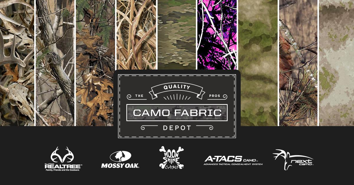 984eadbff34fe Camo Fabric Depot - Realtree - Mossy Oak - Buy Camo Fabric Online
