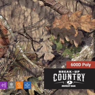 Mossy Oak Break-Up Country 600D Poly