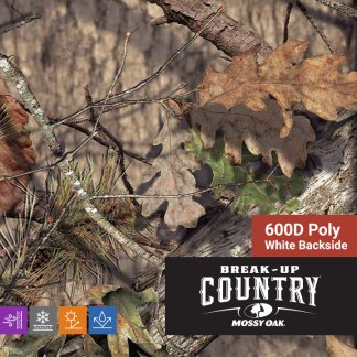 Mossy Oak Break-up Country - 600D Poly Fabric