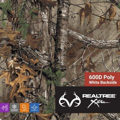 Realtree Xtra - 600D Poly Fabric