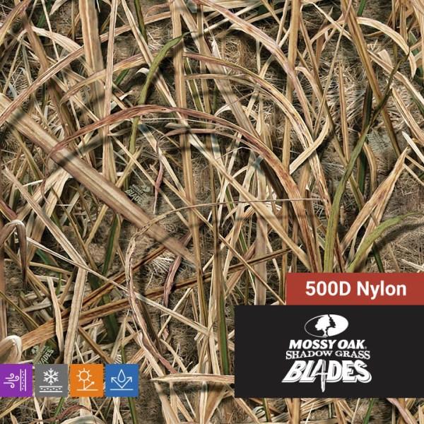 Mossy Oak Shadow Grass Blades 500D Nylon
