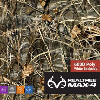 Realtree Max-4 600D Poly