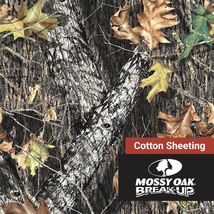 Cotton Sheeting Mossy Oak Break Up 60 Camo Fabric Depot