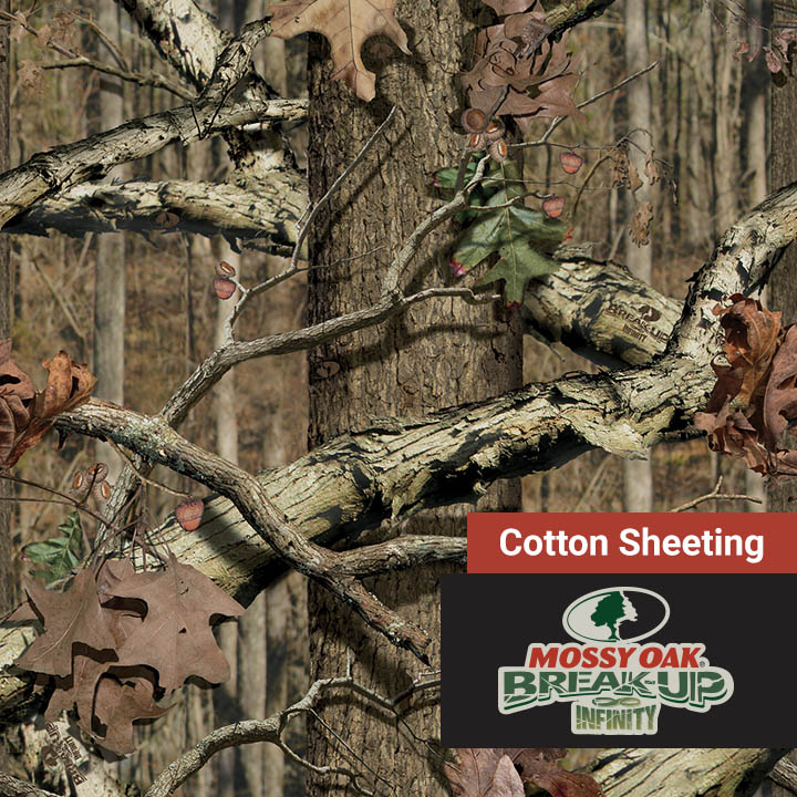 Cotton Sheeting Mossy Oak Break Up Infinity 60 Camo Fabric Depot