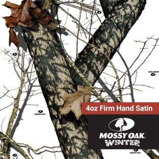 Mossy Oak Winter - 4oz Firm Hand Satin