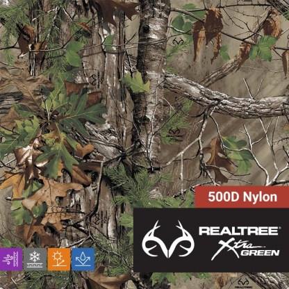 Realtree Xtra Green - 500D Cordura Nylon
