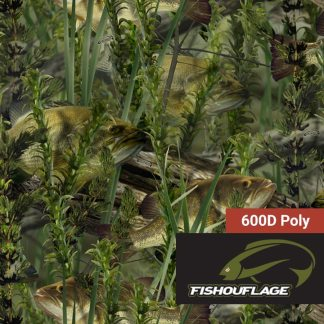 Fishouflage Bass Fabric - Camo Fabric Depot
