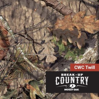 Mossy Oak Break-Up Country CWC Twill - Camo Fabric Depot