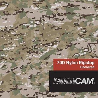 70D Nylon MultiCam Original Fabric