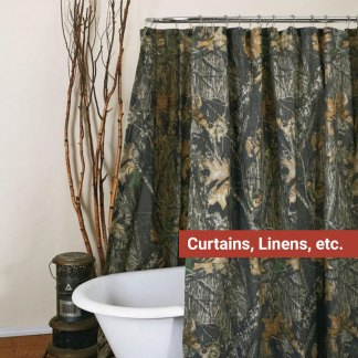 Curtains, Linens, etc.