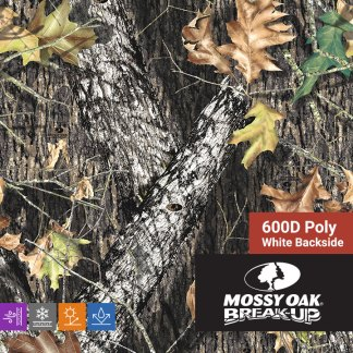 Mossy Oak Break Up - 600D Poly Fabric