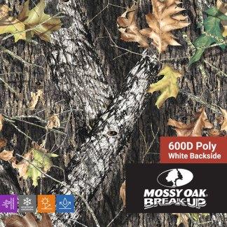 Mossy Oak Break Up - 600D Poly Fabric