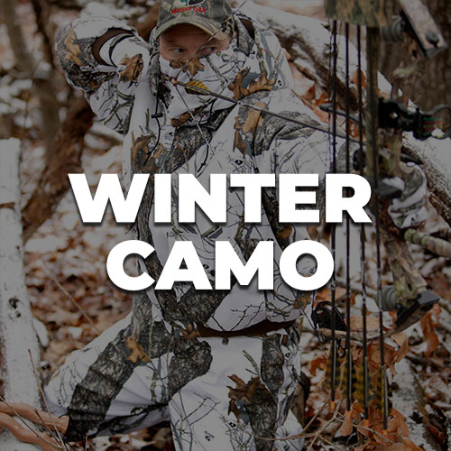 Winter / Snow Camo Fabric