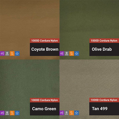 Solid Color Fabrics - Cordura Nylon