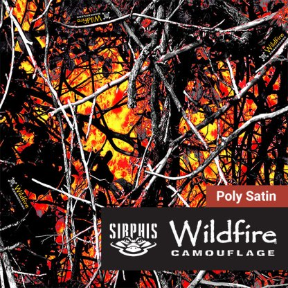 Sirphis Wildfire Camo Fabric