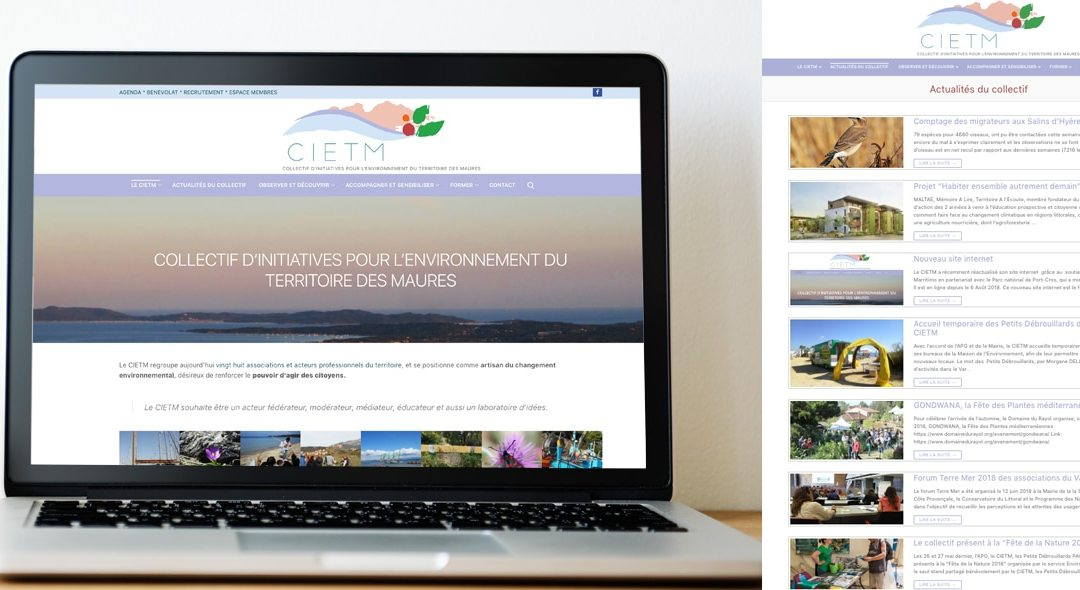 CIETM – Webdesign WordPress