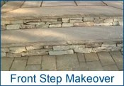 Camosse, Massachusetts, Front Step Makeover