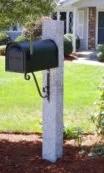 Granite-Mailbox-Post-Pineapple-Finish-Iron-Scroll-Bracket-135x225