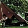 スノーピークが目指したソロキャンプの理想形!新作「ヘキサイーズ1」を立ててみた