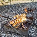 焚き火料理を格上げ!ウルフ&グリズリーの新作パーツ「グリルM1 エクステンション」が面白い
