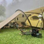 話題のTHE FREE SPIRITS(ザ フリースピリッツ)のテントを宿泊レビュー