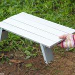 高さ2段階調節できる「ダイソー」のアルミライトテーブルは、買って損なし!?【激似の名品テーブルとの比較も】