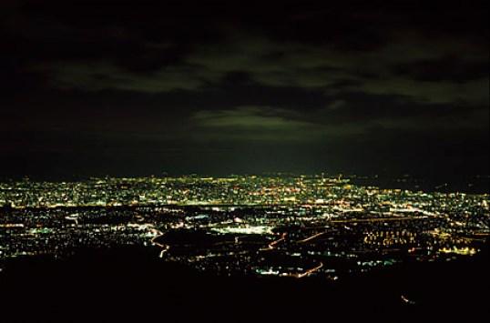 米の山夜景