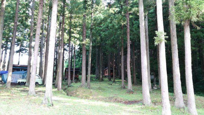 古竜湖キャンプ場