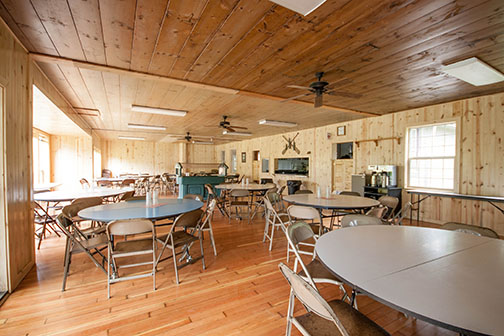 Luckimute Lodge Dining Hall