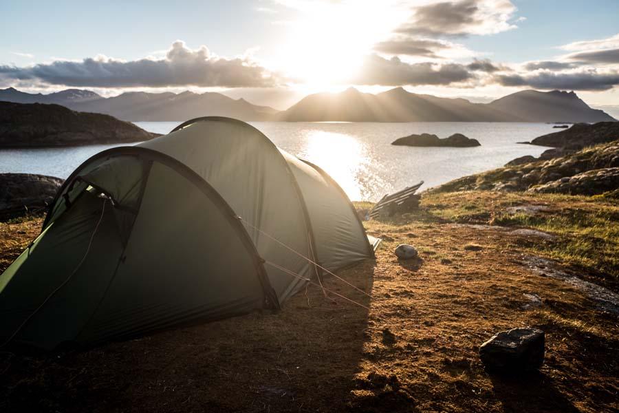 lieux insolites pour planter sa tente