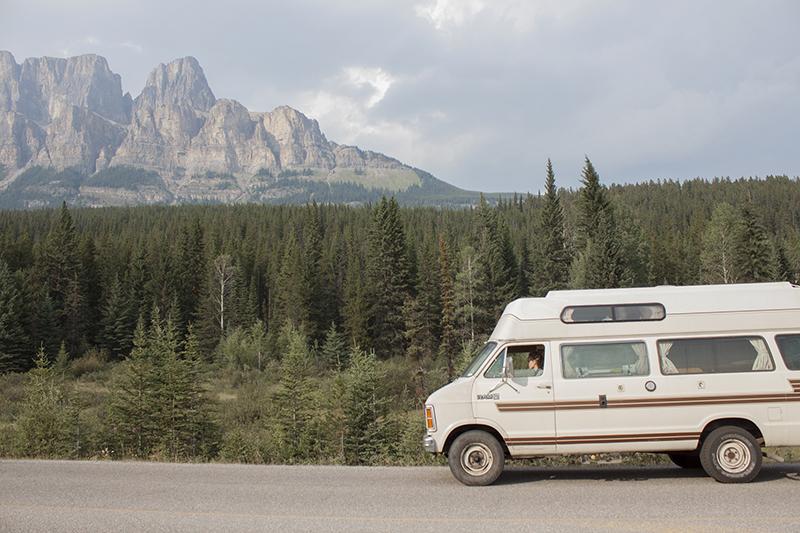 traversée du Canada en van