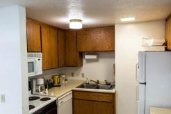Lower Level Kitchen at Camp Lockeslea