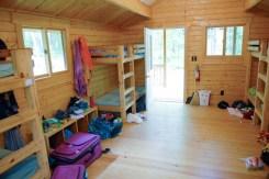 Cabin Interior at Northwoods
