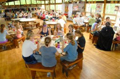 Dining Hall Interior at Northwoods