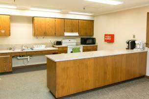 Lower Level Kitchen at Edith Mayo Program Center