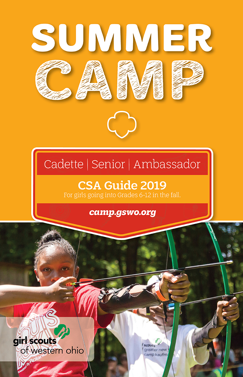 2019 Camp Guide CSA Cover