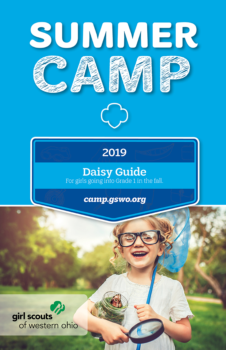 2019 Camp Guide Daisy Cover