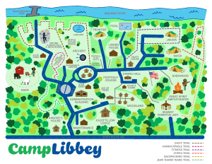 Map of Camp Libbey
