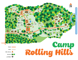 Map of Camp RollingHills