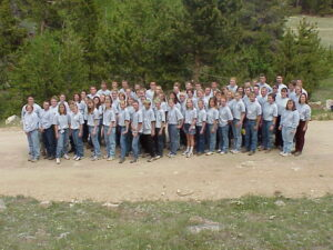 2001 Session 1 Camp Picture