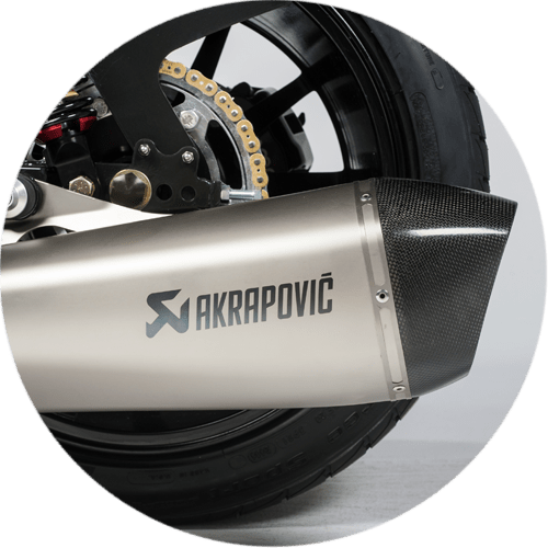 Akrapovic Street Legal Silencer