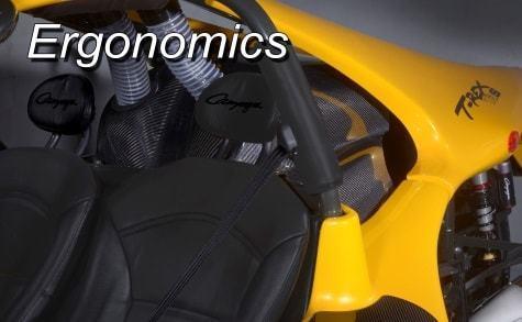 T-REX 16S Ergonomics characteristics