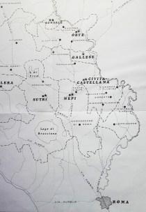 Via Francigena secondo l'itinerario della Diocesi